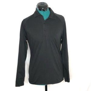 Bonobos Slim Fit Black Shirt Long Sleeve XS Pima